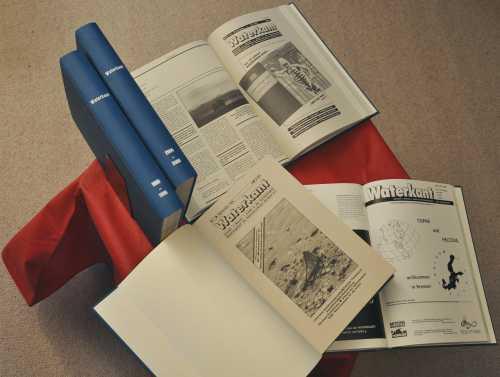 23 Jahrgänge WATERKANT in fünf Bänden